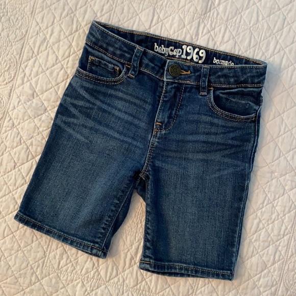 Baby Gap 1969 Bermuda Denim Shorts